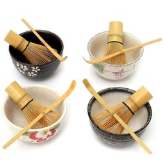 Blesiya Long Handle Bamboo Matcha Tea Whisk Tea Tools Gift for Tea Lovers