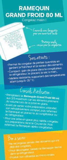 Fiche Tupperware: Ramequin grand froid 80ml