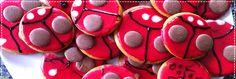 Ladybird biscuits Iced Biscuits, Kids Meals, Crafts For Kids, Desserts, Food, Crafts For Children, Tailgate Desserts, Deserts, Kids Arts And Crafts