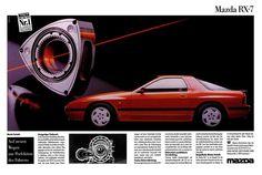 Intetresante publicidad de Mazda RX7