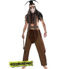 Adult Tonto Costume - The Lone Ranger