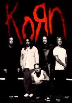 Korn  My favorite band! I <3 Korn <3 :)
