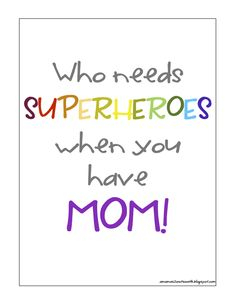 She is super mom