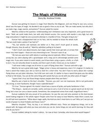worksheet for 5th grade reading | Fifth Grade Reading Comprehension Worksheet \u2013 Meerfus Makes a Wand