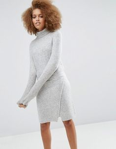 ASOS | ASOS Lounge Knitted Dress with Elasticated Waist - Winter Fashion Picks | Colours and Carousels - Scottish Lifestyle, Beauty and Fashion blog
