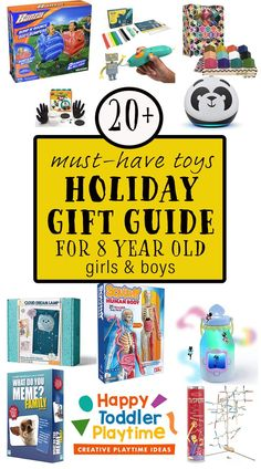 UPDATED 2021: The best toys for 8 year olds that will challenge them and keep them entertained as well as support their maturing physical, emotional and cognitive development.