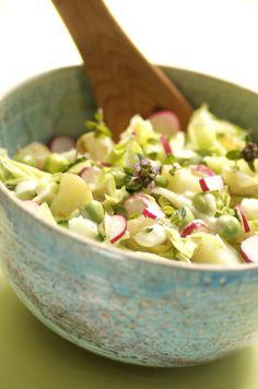 "Søgeresultater for ""Kartoffelsalat"" – Kirstenskaarup. Danish Food, Vegan Vegetarian, Potato Salad, Picnic, Grilling, Good Food, Potatoes, Snacks, Food And Drink"