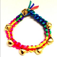 New Multicolored Studded Bracelet