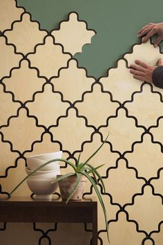 serena confalonieri launches modular wall coverings for portego at maison&objet