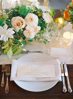 Elegant Carmel Wedding with Photography by Jose Villa, II