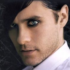 Jared Leto ~ One of the few men I think looks good with eyeliner on.