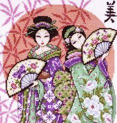 Two Geishas