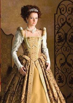 La main Tudor Anne Bolyne stade princesse parti robe par cindysboho