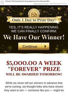Milled is a search engine for email newsletters. Find sales, deals, coupons, and discount codes from retailers and brands. I WONT TO WIN Instant Win Sweepstakes, Online Sweepstakes, Vacation Sweepstakes, Pch Dream Home, Lotto Winning Numbers, Promotion Card, Win For Life, Congratulations To You, Publisher Clearing House