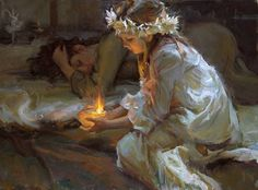 Daniel Gerhartz always pulls something in me. His clothes rendition and candlelight scenarios are just breathtaking