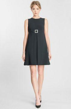 7346d2f92a9f Dolce   Gabbana Cady A-Line Dress Grey Dresses
