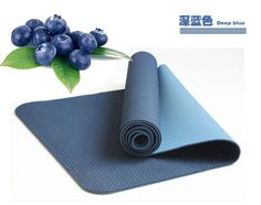 Best deep blue TPE yoga mat for sale from yogaers.com