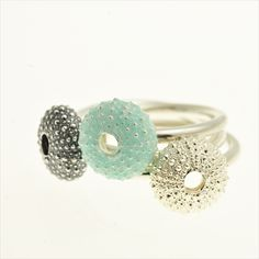 Urchin Rings by Alex Yule Jewellery. If you are looking to commission a wedding ring or engagement ring be sure to try our Gift Guru. We can introduce you to some fab new makers and offer advice. Call 01142216494 ever Wednesday or go to our website for the online service.