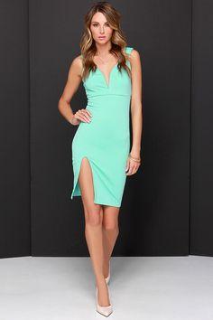 Tidbit Vivacious Mint Dress at Lulus.com!