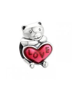 Pandantiv Bear Hug din argint. #ideide #martisoare