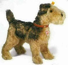 Steiff 035012 Classic 1935 Fellow terrier