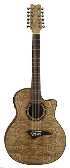 12 String Acoustic Electric Guitar | EXOTICA QUILT ASH 12-STRING