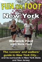 Fun on Foot in New York is the popular guide book with maps for running or walking in   New York City and the surrounding region.