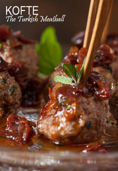 Hello, this is maybe a new taste for you from Turkey. Mouth-filling, delicious and so easy to prepare meatballs can make your dinner. Come on, invite some guests for dinner today. You can serve with garnitures as we suggest on fifth step of instructions. These will highlighten your very amazing dinner!