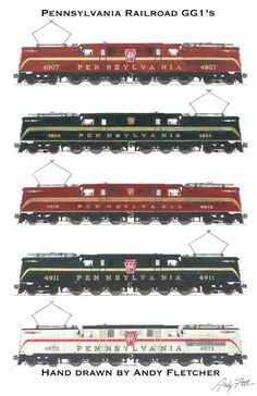 Pennsylvania Railroad by Andy Fletcher