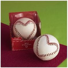 baseball heart wedding favor or decoration- for all the couples i know who love baseball