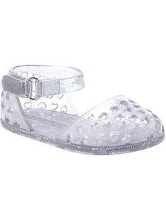 Mary Jane Jelly Sandals for Baby...violet should have these
