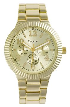 really been wanting a gold watch... this one is super cheap! just wish i could try it on in store