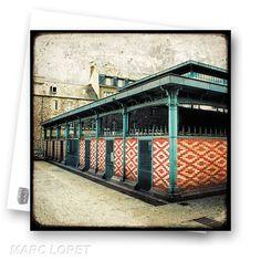 Halle Martenot - Rennes - Postcard. $3,00, via Etsy.