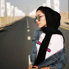 Find images and videos about glasses, hijab and حجاب on We Heart It - the app to get lost in what you love. Muslim Women Fashion, Modern Hijab Fashion, Street Hijab Fashion, Hijab Fashion Inspiration, Modest Fashion, Fashion Outfits, Fashion Trends, Casual Hijab Outfit, Casual Outfits