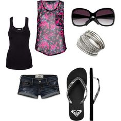 summer lovin, created by aimeeswensen on Polyvore