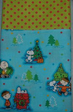 Pillow Case Charlie Brown Christmas Peanuts by AStitchinTime72, $6.00