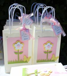 These party favor bags are gorgeous!