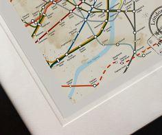 London Map by BeautifulPeaceEtsy