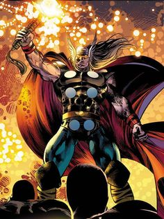 Ragnarok-- Thor's evil cyborg clone