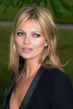 kate moss hair mid length - Google Search