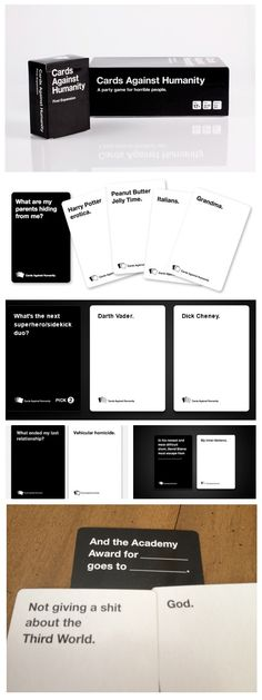 I LOVE CARDS AGAINST HUMANITY Cards Against Humanity Funny, Humanity Game, Offensive Humor, Bad Puns, Funny Messages, Funny Picture Quotes, Funny Pictures, Funny Cute, The Funny