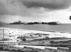 La Isla de Toralla desde la Playa del Bao