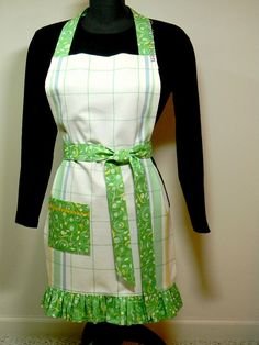 Finished apron by quiltn queen, via Flickr