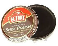 1 sold! More Available!!KIWI Wax - Rich Shoe Polish Dark Tan 36g Shines Nourishes & Protects Your Shoes #KIWI