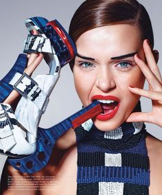Clashing Print Fashion Ads : Peter Pilotto for Target campaign