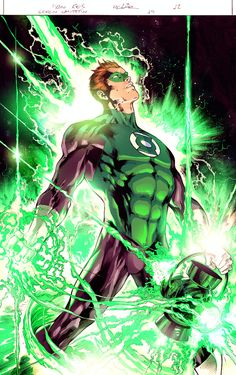 Really learned a lot on this one. Practicing coloring on a Ivan Reis Green Lantern that I found online. I can finally now search how the official color looks like! Comic Drawing, Drawing Sketches, Drawings, Lantern Drawing, Frank Miller Comics, Green Lantern Comics, Green Lantern Hal Jordan, Batman Beyond, Dc Comics Art