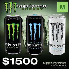 Monster Energy bebida energizante