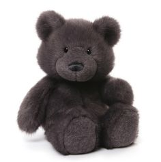 "GUND is proud to present Phoebe — a unique 15"" upscale teddy bear in striking midnight blue. Features high-quality plush construction and a big belly that's impossible not to hug. - Phoebe teddy bear"