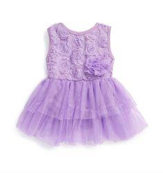 0c613965984d Popatu dress Baby Girl First Birthday, My Baby Girl, Baby Girls, Violet  Dresses