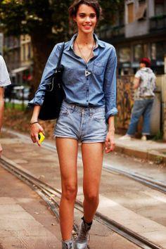 Jeans via Flair.be
